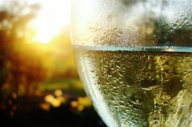 Sunrise Wine Glass Small